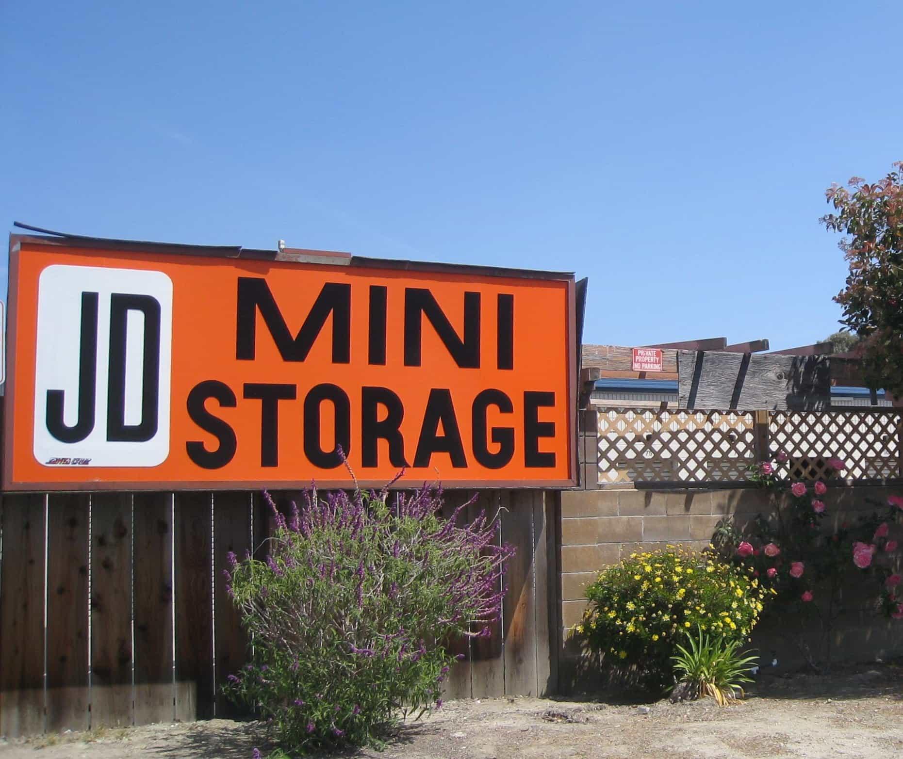 JD Mini Storage in Capitola