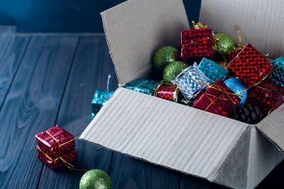 Christmas Gifts in a box