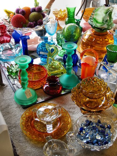 Colored Antique Glass
