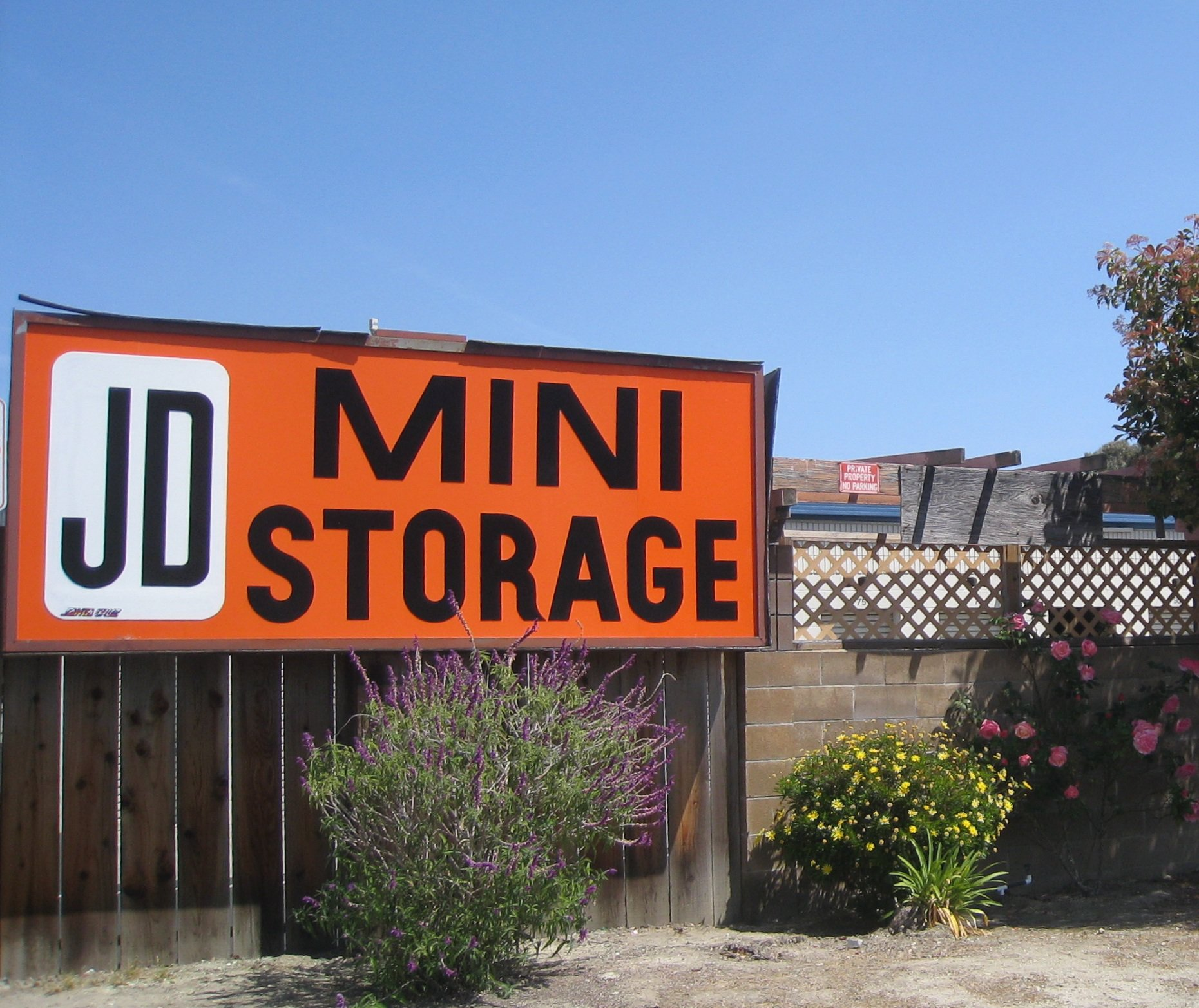 JD Mini Storage in Capitola